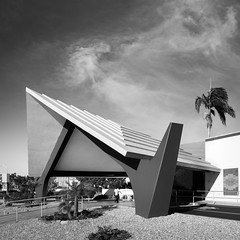 Masonic Lodge (Chimay Bleue) Tags: bw white black alley san modernism diego lodge masonic valley bowling mission modernist midcentury mcm