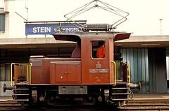 Te 175  Stein  14.07.81 (w. + h. brutzer) Tags: analog train schweiz switzerland nikon eisenbahn railway zug trains sbb locomotive stein lokomotive rangierlok eisenbahnen webru bahndienst