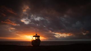 First light at Aldeburgh