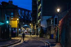 London   |   Redcross Way (JB_1984) Tags: redcrossway street streetphotography person bluehour evening bridge railwaybridge southwark londonboroughofsouthwark london england uk unitedkingdom nikon d7100 nikond7100 explore explored