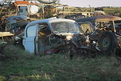 DSC_7213 (srblythe) Tags: cars scotland rust scrapyard knaven