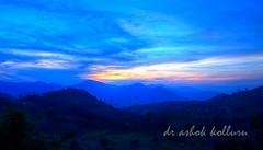 Dusk@Araku (ashok kolluru) Tags: sunset hdr vizag araku villagescene andhrapradesh visakhapatnam