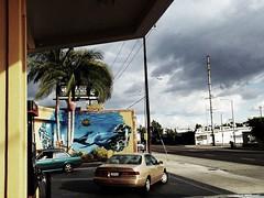 Dreams On Offer (MPnormaleye) Tags: auto street city storm art cars clouds painting la mural overcast billboard neighborhood utata utata:project=tw501
