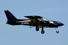 N1909G.PIK230714 (MarkP51) Tags: plane airplane scotland airport nikon image aircraft aviation cessna prestwick pik 310r egpk aviationphotography d5000 n1909g markp51