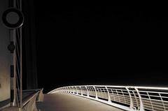 Lines (Atreides59) Tags: nuit night pont bridge bw bordeaux pentax k30 pentaxart k 30 atreides atreides59 cedriclafrance rue street blackwhite blackandwhite mono monochrome city ville town lines lignes ligne line noir blanc noiretblanc urbex
