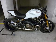 Ducati 1200 Monster S - Full Termignoni exhaust (MotoTracer.com) Tags: monster racing 1200 ducati v2 muffler exhaust evo ligne 1200s termignoni silencieux bicylindre racingevo