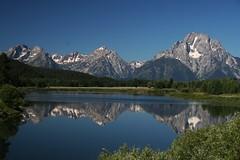 Grand Teton Park trip, Wyoming (104) (OttawaRocks) Tags: lake mountains reflection wyoming grandtetonnationalpark