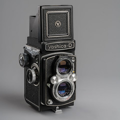 Yashica-D TLR (Botond Buzas Photography) Tags: aged analog antique aperture art background black brown camera chrome classic design drawing equipment film focus frame grunge history illustration image isolated lens line metal negative nostalgia object obsolete old oldfashioned optical photo photograph photographic photography picture professional retro shutter silver studio style table technology traditional vector vintage white yellow h 3 options