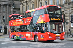 Lothian City Sightseeing 228 SJ16CTE (Will Swain) Tags: edinburgh 24th september 2016 bus buses transport travel uk britain vehicle vehicles county country scotland scottish north northern central city centre lothian sightseeing 228 sj16cte