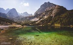 Seebensee (Steffen Walther) Tags: fotografjena steffenwalther alpen alps austria hiking trekking wandern sterreich seebensee tyrolia tirol canon5dmarkiii canon1740l reisefotolust lake emerald green outdoor miemingerkette miemingermountains hiker alm colors polarizer hoya