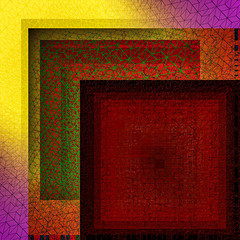 shadows of net (Kai-Ming :-))) Tags: net shadow squarenet creative kaiming kmwhk artwork digitalart art