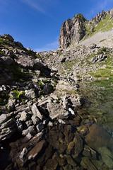 Merlat #1 (Nicolas Gailland) Tags: landscape narure paysage lake lac water eau reflets reflects belledonne isere isre grenoble rhone alpes alps alpe france canon hitech filter filtre nd gnd mark