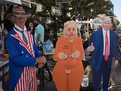 Untitled, New Orleans (J.BdeQ) Tags: trump election hillary clinton uncle sam