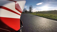 For those who said season was over... 17 degrees nice long ride today! :) (Lusty-Daisy) Tags: 939sp hypermotard ducati