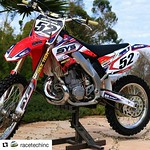 """#Repost @racetechinc with @repostapp ・・・ #RTRipper @kellenbrauer from @startyoursystems gives us a good reason to post a sweet CR250 with some @fammxdesign graphics. #RaceTech #GoldValves <a style=""""margin-left:10px; font-size:0.8em;"""" href=""""http://www.flickr.com/photos/99185451@N05/30328574080/"""" target=""""_blank"""">@flickr</a>"""