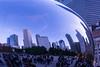 Cloud Gate Reflection III (sjshoreman) Tags: chicago illinois cloudgate bean reflection millenniumpark