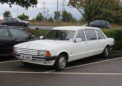 1983 Ford Granada Coleman Milne Dorchester VI 2.8 (Spottedlaurel) Tags: ford granada colemanmilne dorchester limousine dorchestervi