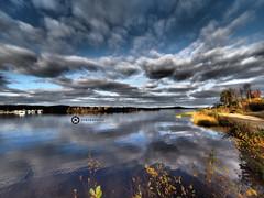 At Lake Inari (jan-krux photography - thx for 1.6 Mio+ views) Tags: inarijaervi lake inari finland finnland europa europe scandinavia skandinavien see wasser water landscape landschaft olympus em1 omd