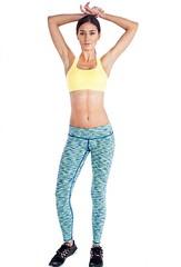 Buy Lemon Yellow Sports Bra Online from Alanic and Workout with Moxie (alanic501) Tags: lemon yellow sports bra