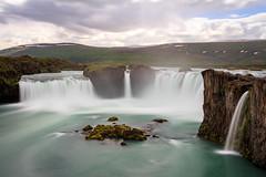Waterfall of the gods (loddeur) Tags: waterfall tourist landmark spray water rocks longexposure ndfilter nd1000 benro
