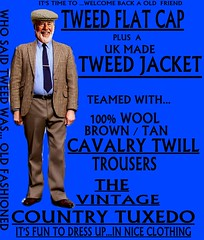 the Country Tuxedo wear tweed 6 (Ban Long Line Ocean Fishing) Tags: countrytuxedo tweed tweedjacketphotos tweeds tweedjacket tie twill texture tweedcoat trousers classic clothing canon coat country christchurch cavalrytwill cavalry nz newzealand napier nelson wellington blazer bloke guy cap clothes tweedcap flatcap scottish scotland uk british britain english england mens man mensfashion menswear hastings hamilton harris text houndstoothtweedjacket houndstooth harristweeds candid countrytweeds cavalrytwilltrousers coatjacketjacketcoats color retro oldschool old older