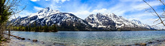 Jenny Lake Panorama - Grand Teton National Park (aparlette) Tags: water mountains grandtetonnationalpark grandteton landscape jennylake lake panorama alta wyoming unitedstates us