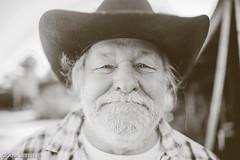 Grandfather (Deana Steere) Tags: deanasteere canoneos5dmarkii canon portrait cowboy old man face happy beard plaid dof depthoffield