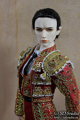 Matador_4 (SD-studia) Tags: torero toreador matador bjdphoto bjd vito souldoll souldollvito bjdclothes dollcharacter dollhistoricaldress dollfoto