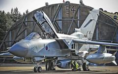 (aeroman3) Tags: 31sqn pod raptorpod marham raf equipment aircraft jet fighter offensive tornado gr4 groundcrew hanger uk