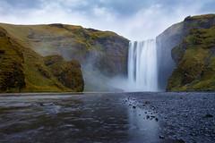 Skógafoss (Rodney Topor) Tags: iceland skogar landscape waterfall skógafoss canonef1635mmf4lisusm