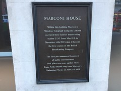 Marconi House on Aldwych (Matt From London) Tags: aldwych marconi 1922 2lo wireless broadcasting
