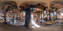 Spout floor of Jill Windmill (m1ke_a) Tags: postmill southdowns windmill machinery historicbuilding wooden flour grain nationalpark