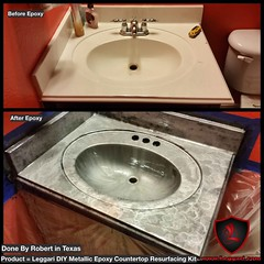 The #possibilities are #endless when using our #DIY #metallic #epoxy #countertop #resurfacing #kits go to www.leggari.com and order your kit today (Epoxy Coatings for Countertops and Flooring) Tags: possibilities endless diy metallic epoxy countertop resurfacing kits