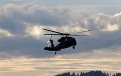 Austrian Blackhawk - Sunset in Zeltweg (stecker.rene) Tags: austrianairforce blackhawk zeltweg hinterstoisser loxz clouds sunset austria aerialdisplay flyingdisplay airshow airpower2016 airpower16 airpower airforce afb airbase helicopter rotorcraft aircraft sikorsky s70a42 s70 uh60 bundesheer forest sky sun military combat csar canon eos7d tamron 18270mm