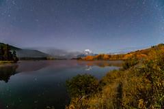 Oxbow Bend (greggohanian) Tags: grandtetons tetons mtmoran oxbowbend stars night foliage autumn snakeriver river