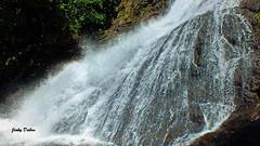 flow of water.... (Jinky Dabon) Tags: fujifilmfinepixhs35exr waterfall stream naturalwater waterfalls watercurrent