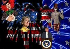 Election Insanity (mary nuyasaka1) Tags: second life insanity election