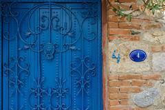 Sigacik (Michal Soukup) Tags: turkey izmir sigacik vacation summer trip travel family streets colors nikond600 nikkor35mmf18g door 4 number blue red