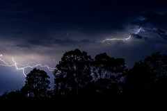 Doctor? (PommieDad) Tags: australia tweedhead storm lightning night nikon thunder thunderstorm electrical electric