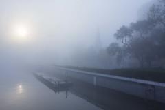 Foggy Autumn, Shanghai (YG Low) Tags: canon 60d tokina 1224 cityscape shanghai city china misty foggy tokinaaf1224mmf4