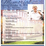 Baer Memorial booklet