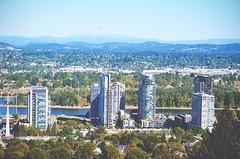 Oregon, USA   It's Travel O'Clock (DaphneGroeneveld) Tags: oregon usa america travel landscape nature portland city view skyline aerial mounthood outdoor
