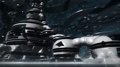Future City (eXalk) Tags: city art abstract architektur design digital dream deep fantasy fractal mandelbulber render reflection future scifi