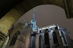 Dijon-St Bénigne sous le porche de St-Philibert (godran25) Tags: bourgogne dijon burgundy saintbénigne saintphilibert cathédrale