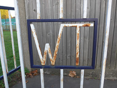 WT (moley75) Tags: croydon gate london purleyway rusty southlondon surrey waddon watertreatment wt