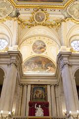 Entry Stairs - Palacio Real (rschnaible) Tags: palacio real madrid palace government building architecture history historic spain