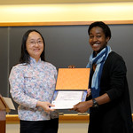 Professor Frances Wang, Ariel James: Nancy Hirschberg Award