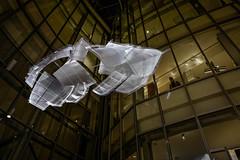 Paris - Fondation Louis Vuitton - Lustre. (Gilles Daligand) Tags: paris fondation louisvuitton lustre hall leica q