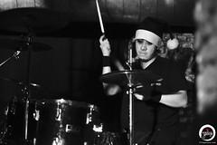 yu-ta. (7716galaxy) Tags: xmadealcoholicsantaclaus xmas jrock loud rock japanese music musician blackandwhite live concert realive brussels belgium charlie masaya kei yuta monochrome lights guitar guitarist drummer drums vocal bass bassist espcealaventure tour europe eutour