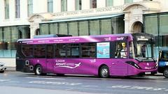 67102 SN16OSK First Glasgow (busmanscotland) Tags: 67102 sn16osk first glasgow sn16 osk ad adl alexander dennis e20d enviro 200 e200 mmc airport baa express service shuttle